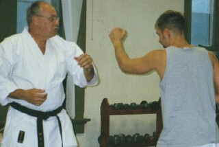 Sensei Rick Cable and Jody